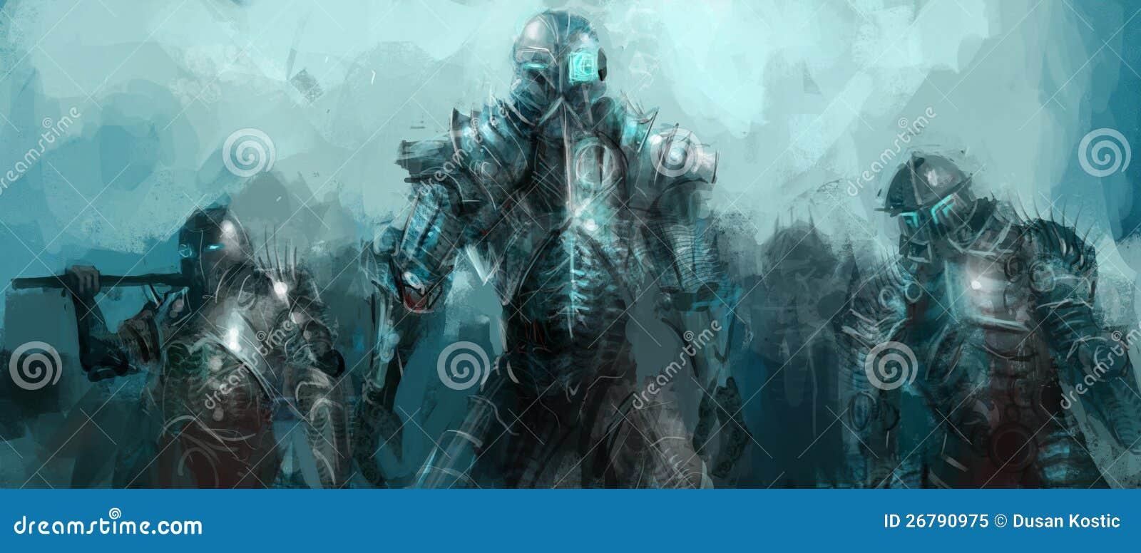 Exército da cibernética