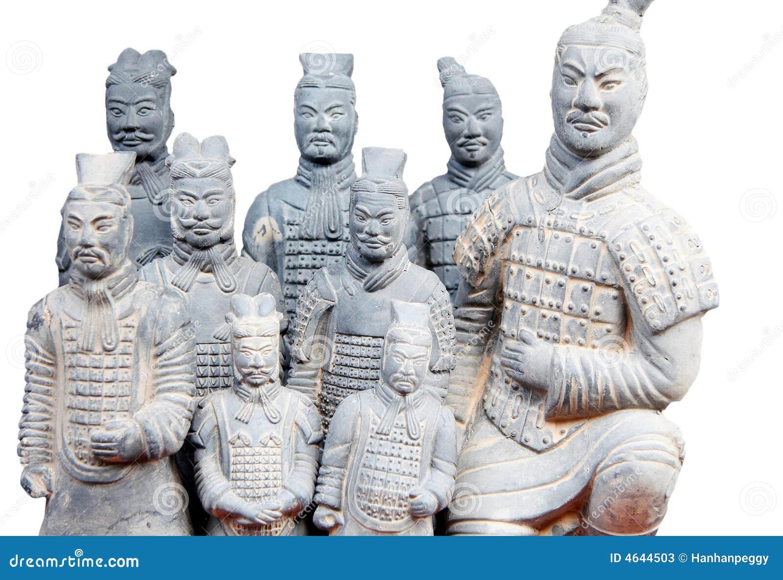 Exército de guerreiros do terracotta