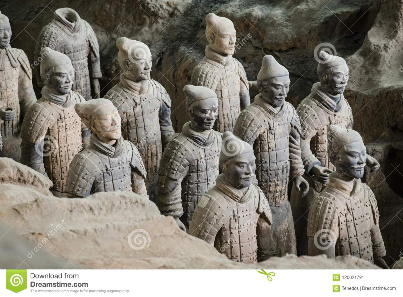 Exército de Terracota do primeiro imperador de China