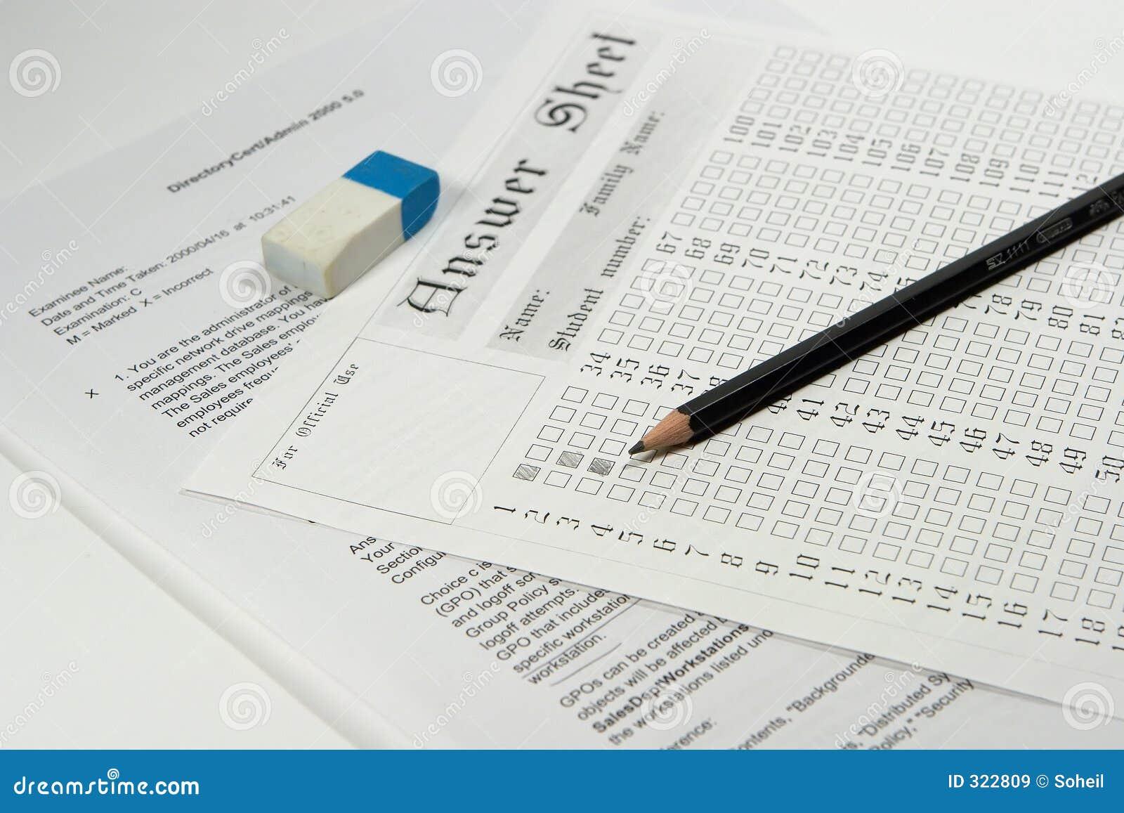 term exams paper