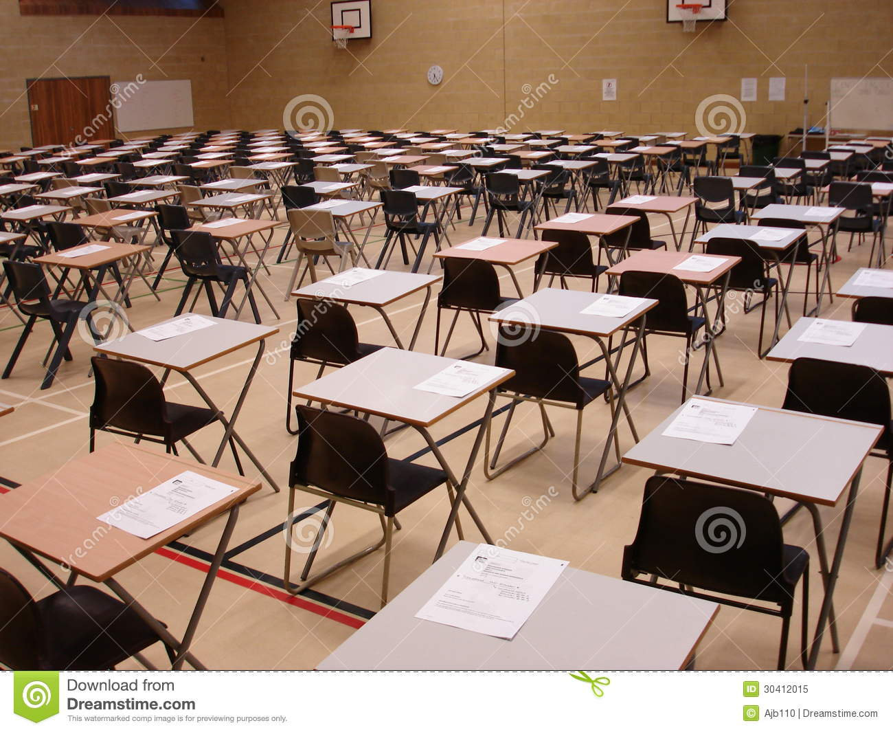 Exam Time Stock Image Image Of Paper Fail Succeed 30412015