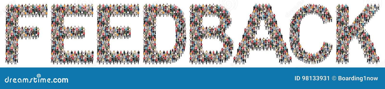 Examen d affaires d enquête d opinion de service client de contact de rétroaction