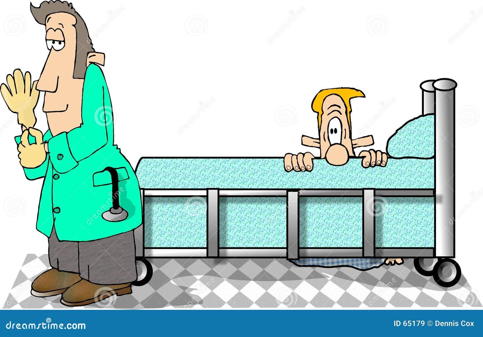 Examen de la próstata stock de ilustración. Ilustración de examen ...