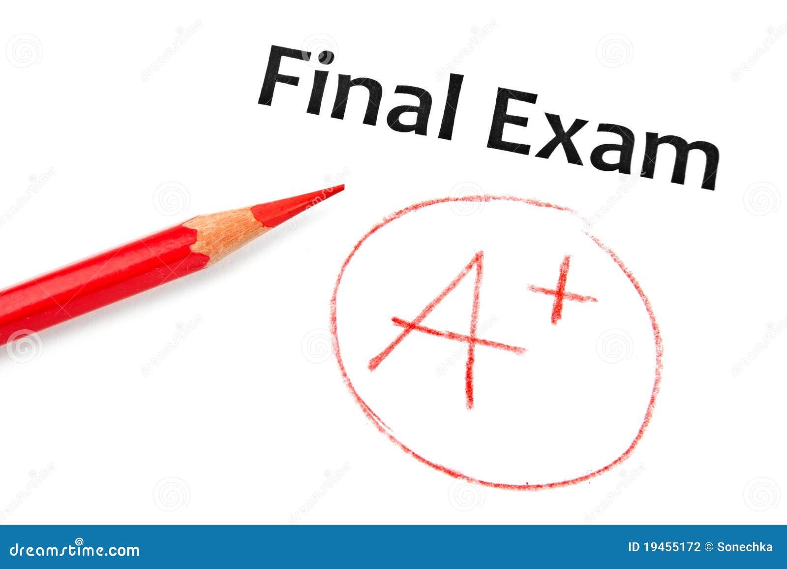 Examen final identifié par A+