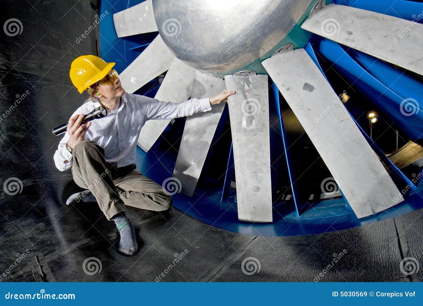 Examiner un windtunnel