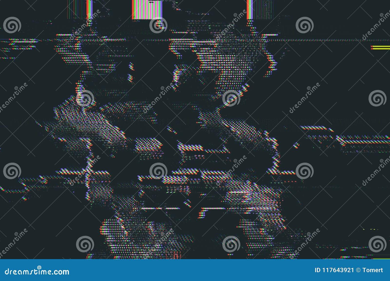 Examinez la texture abstraite de problème d écran