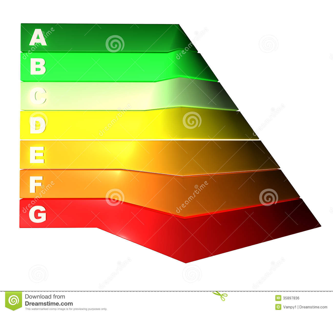 Examples Business Pyramid Illustration, Energy Pyramid Stock
