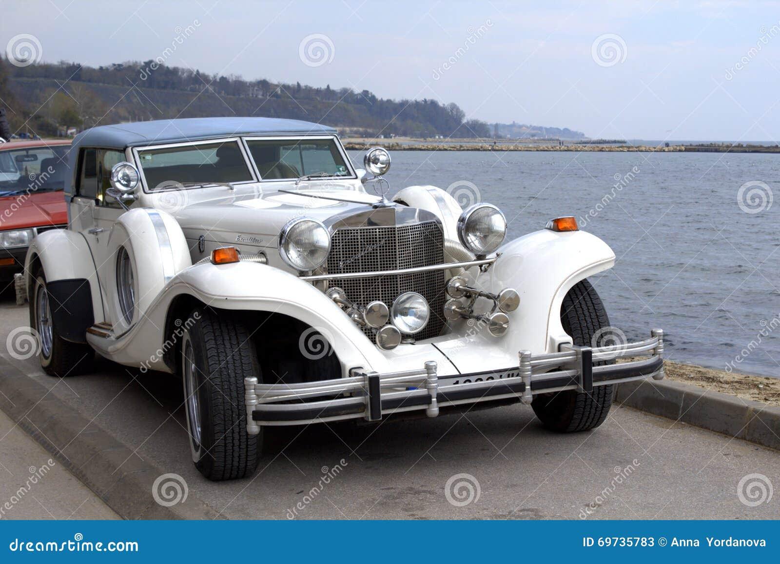 Excalibur Auto Body >> Excalibur classic car editorial stock photo. Image of look ...