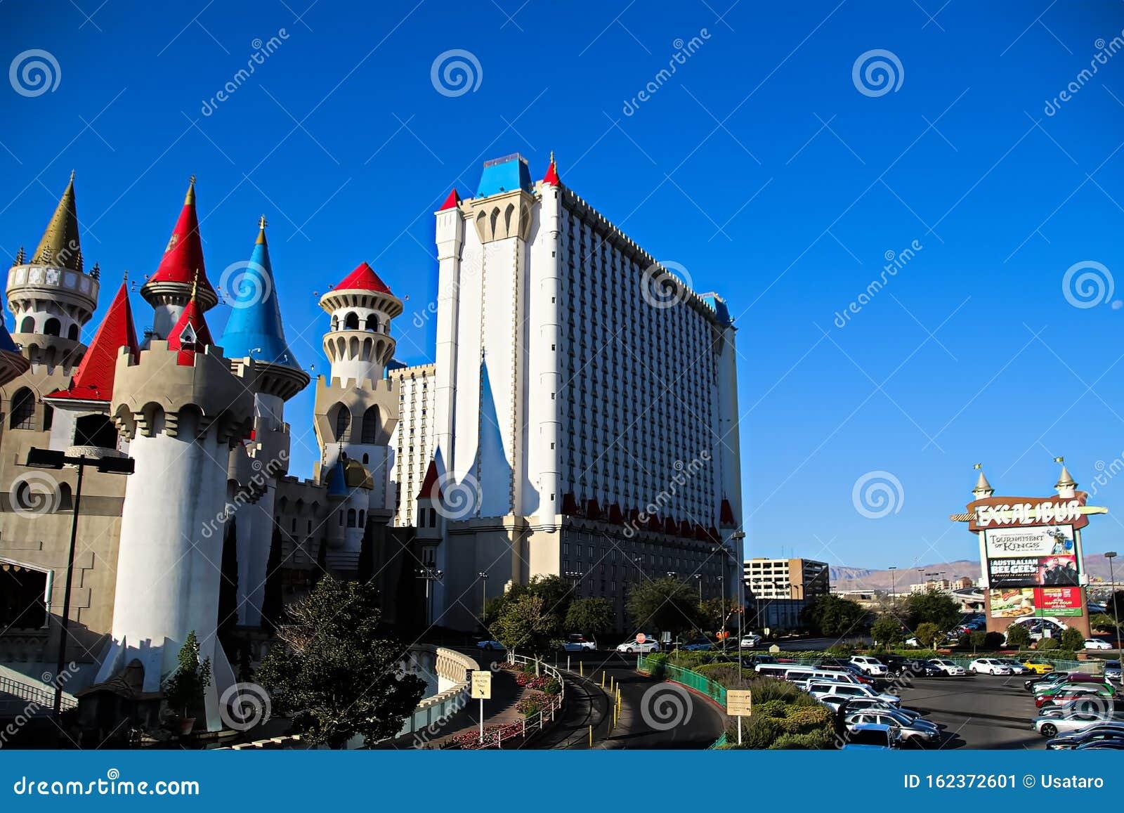 The Excalibur Hotel And Casino In Las Vegas Editorial Photo Image Of Entertainment Craps 162372601