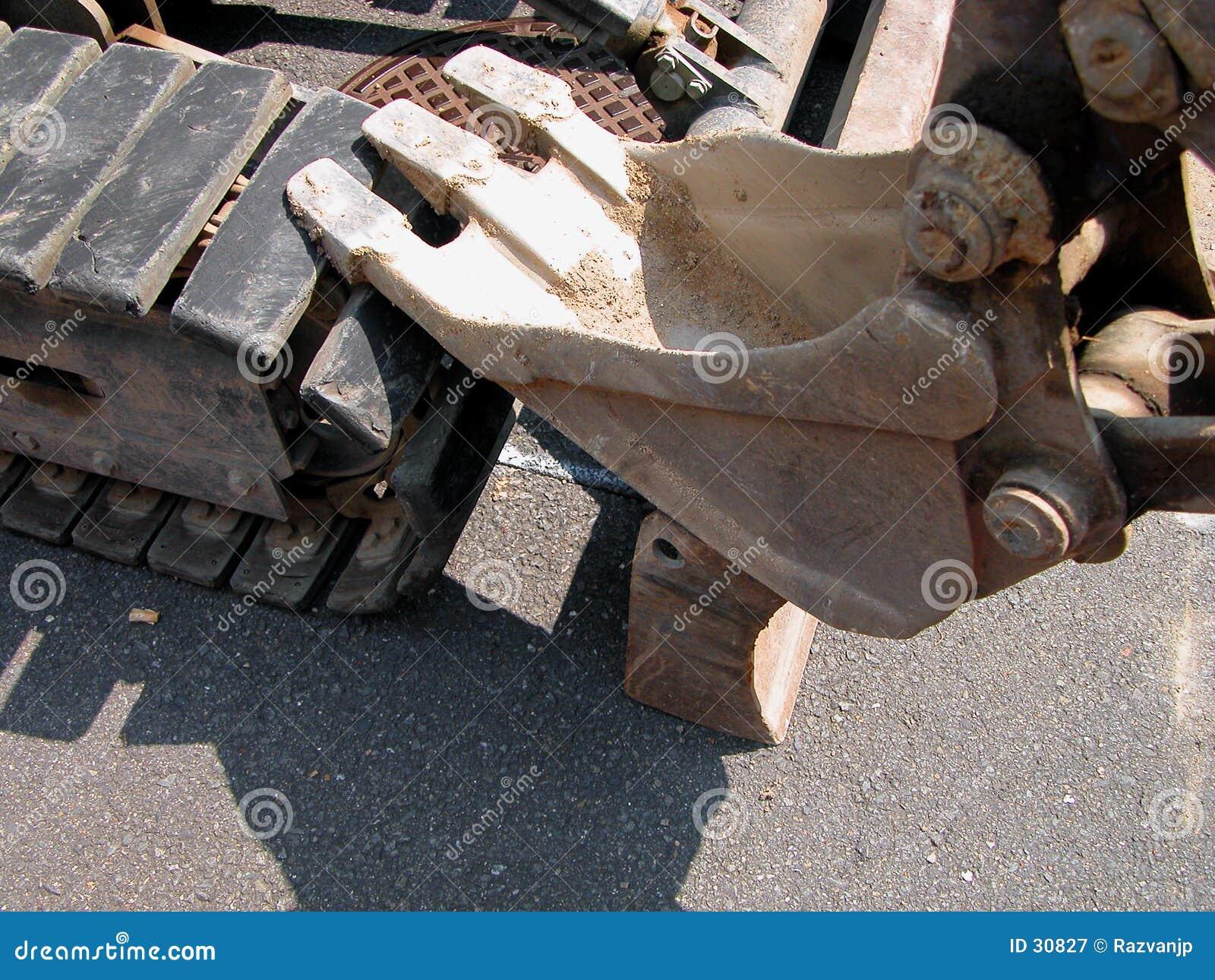 Download Excavador imagen de archivo. Imagen de construcción, compartimiento - 30827