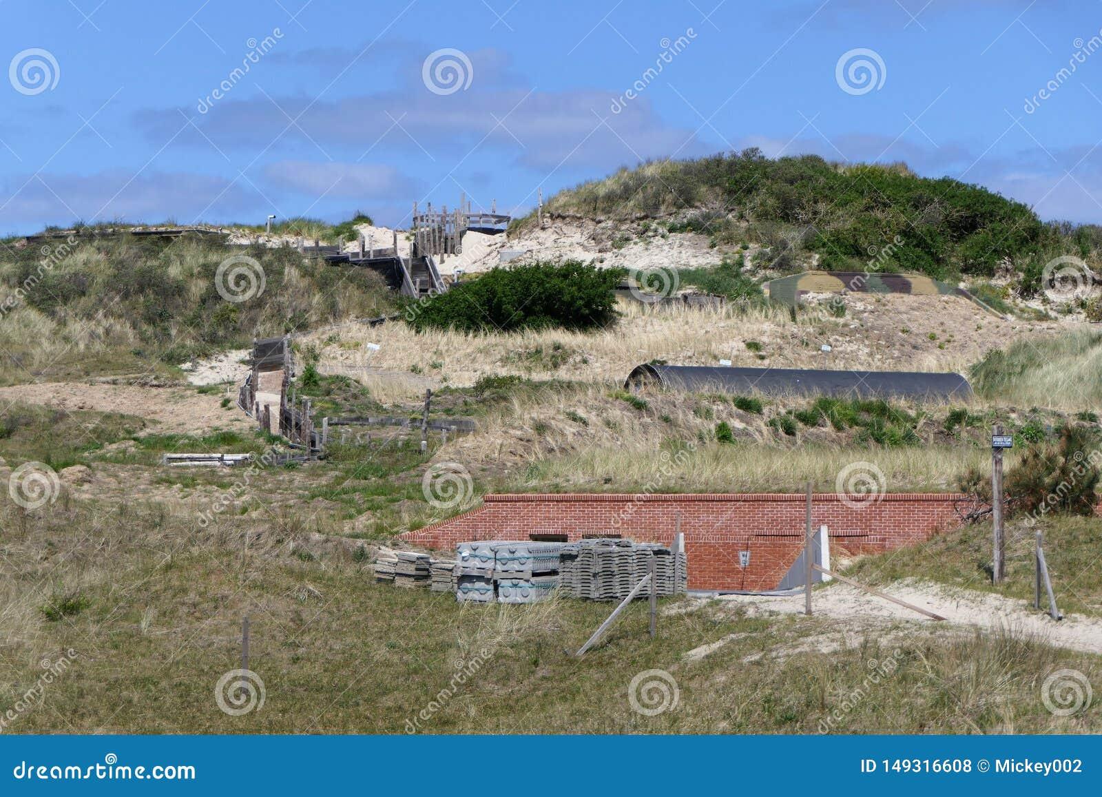 Excavation bunker Vlieland