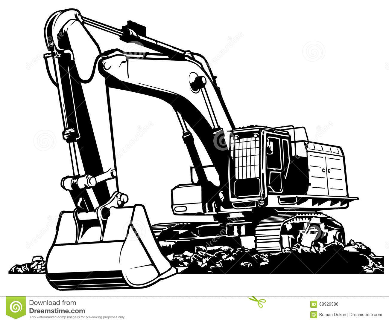 HD wallpapers excavator truck coloring page