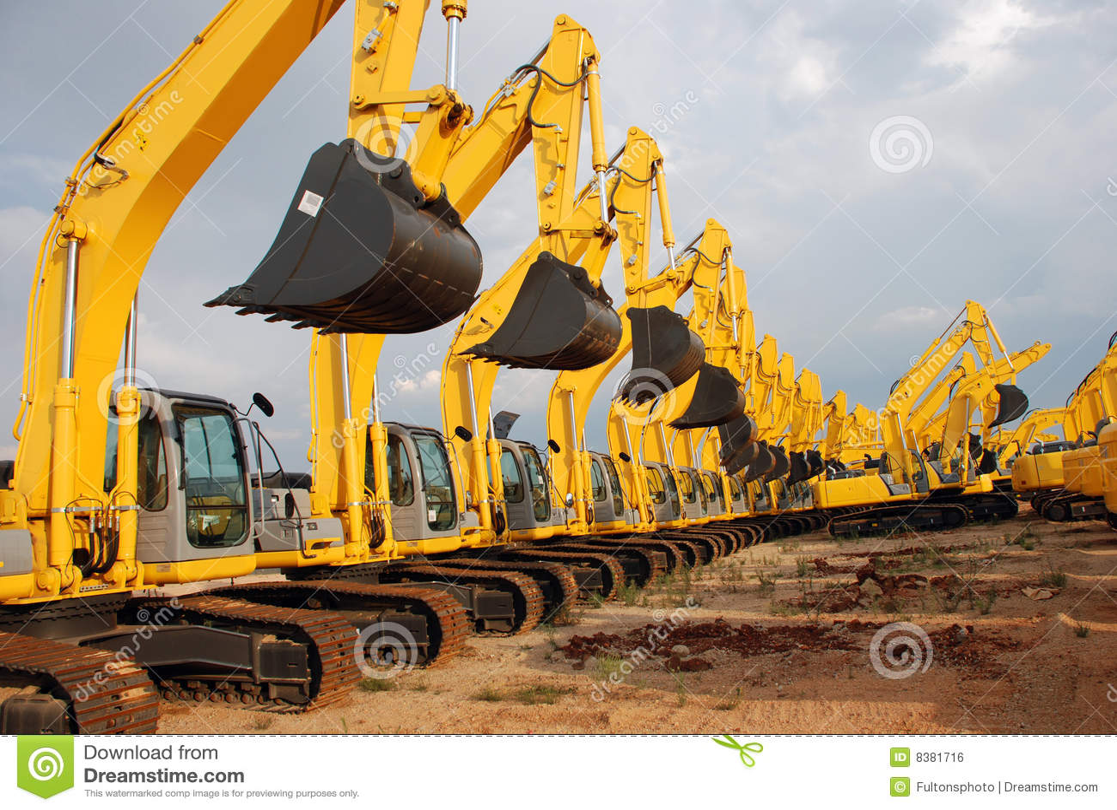 Excavator Construction Equipment