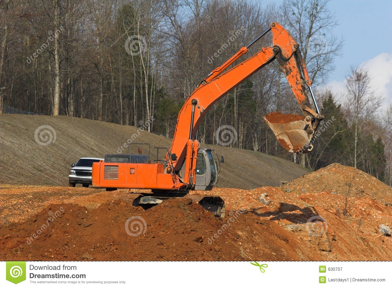 Excavator Digging Royalty Free Stock Photography - Image ...