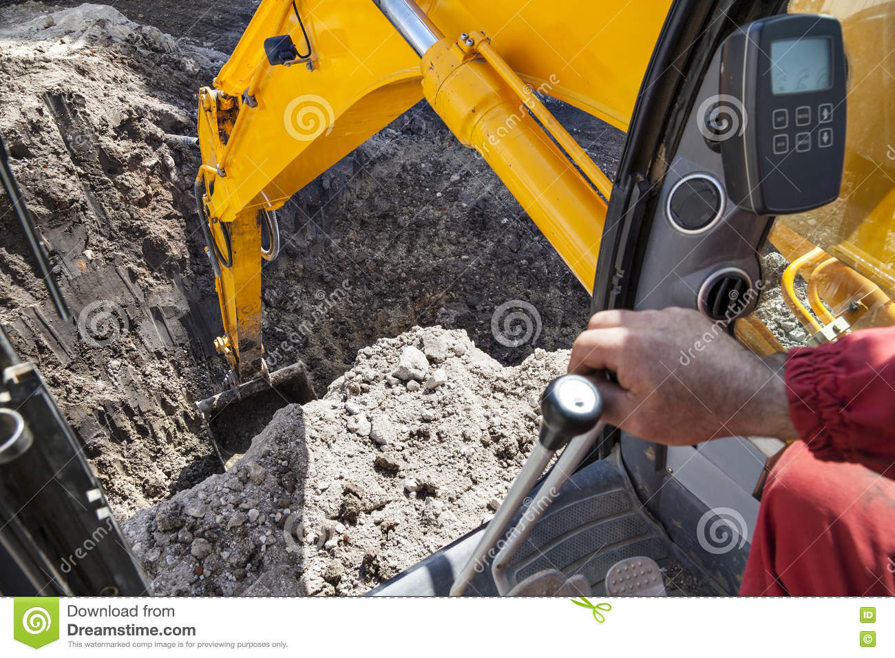Hole in the ground stock image 35052733 for Digging ground dream meaning