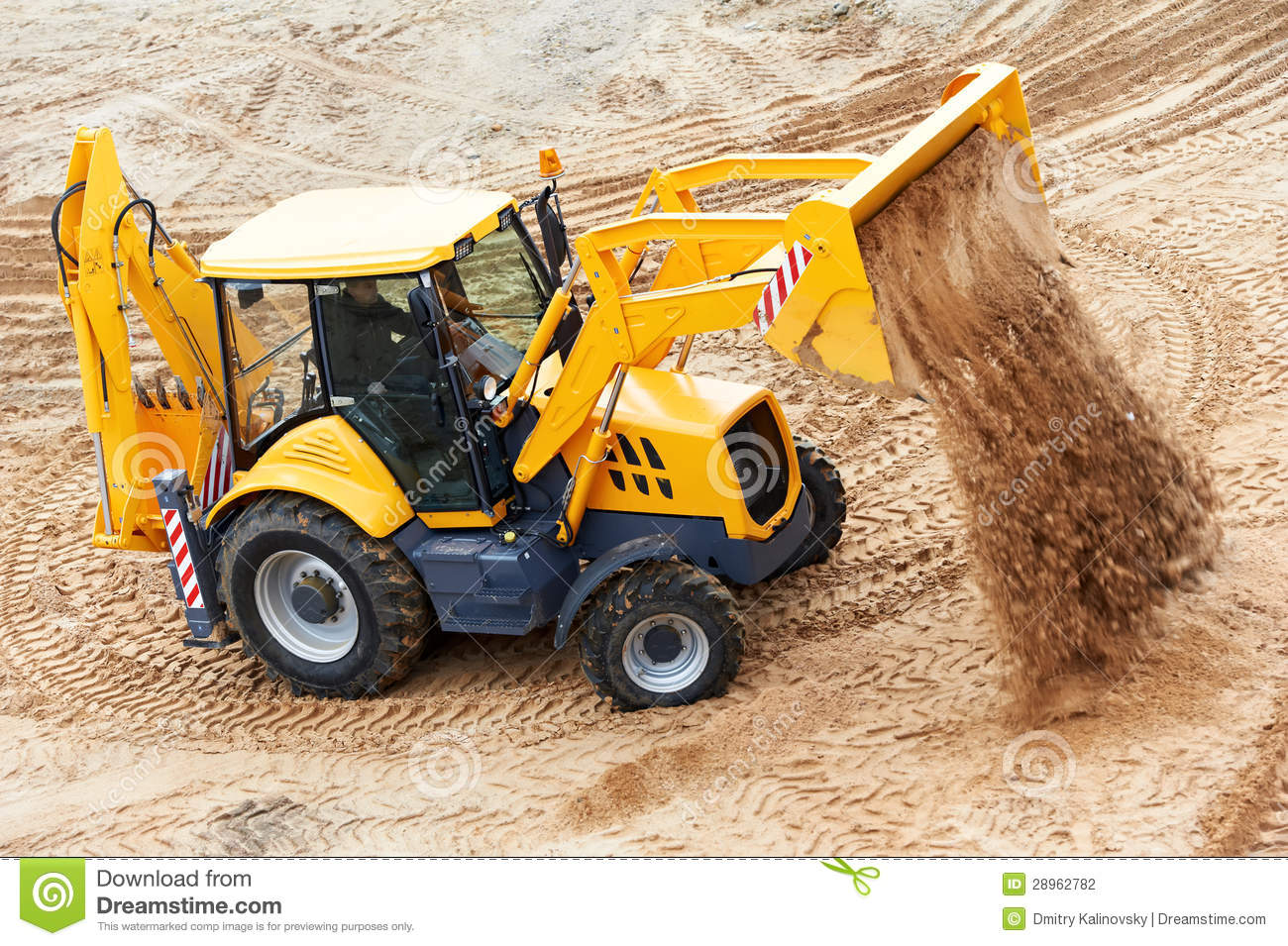 how to build a stock pile with a wheel loader
