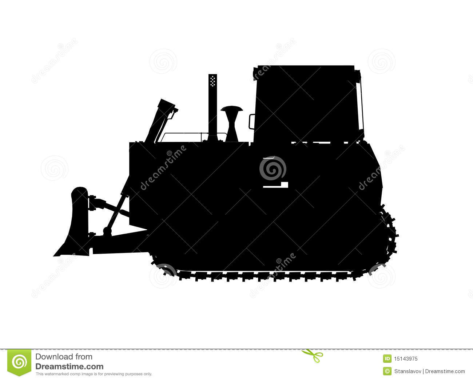 Excavator Silhouette Royalty Free Stock Photo - Image ...