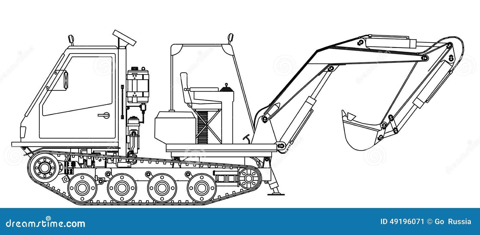 diagram of a robotic arm