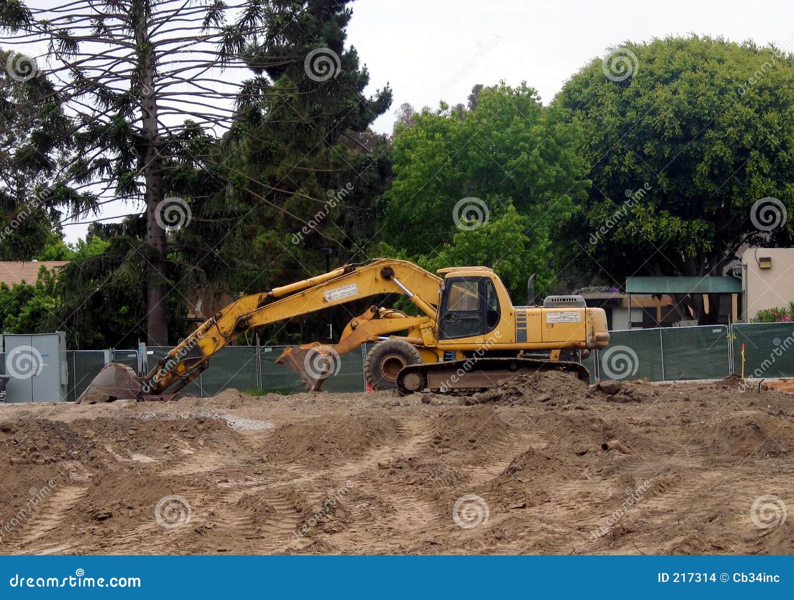 Excavatrice de saleté