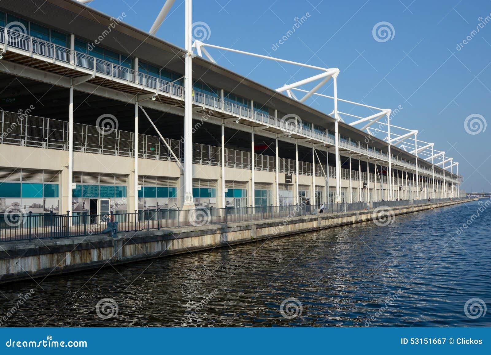 Excel Centre in Docklands, London, England