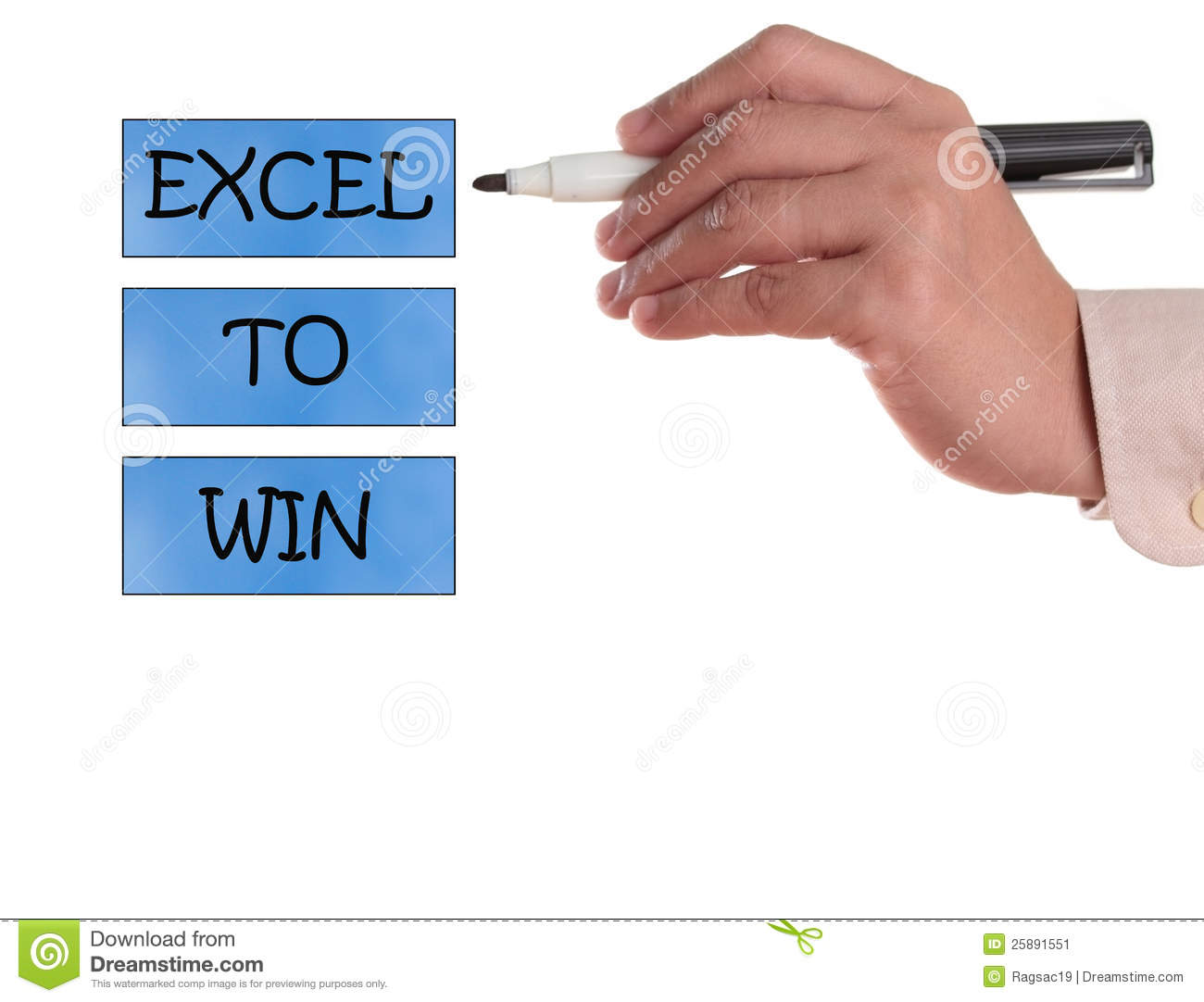 Excel to win