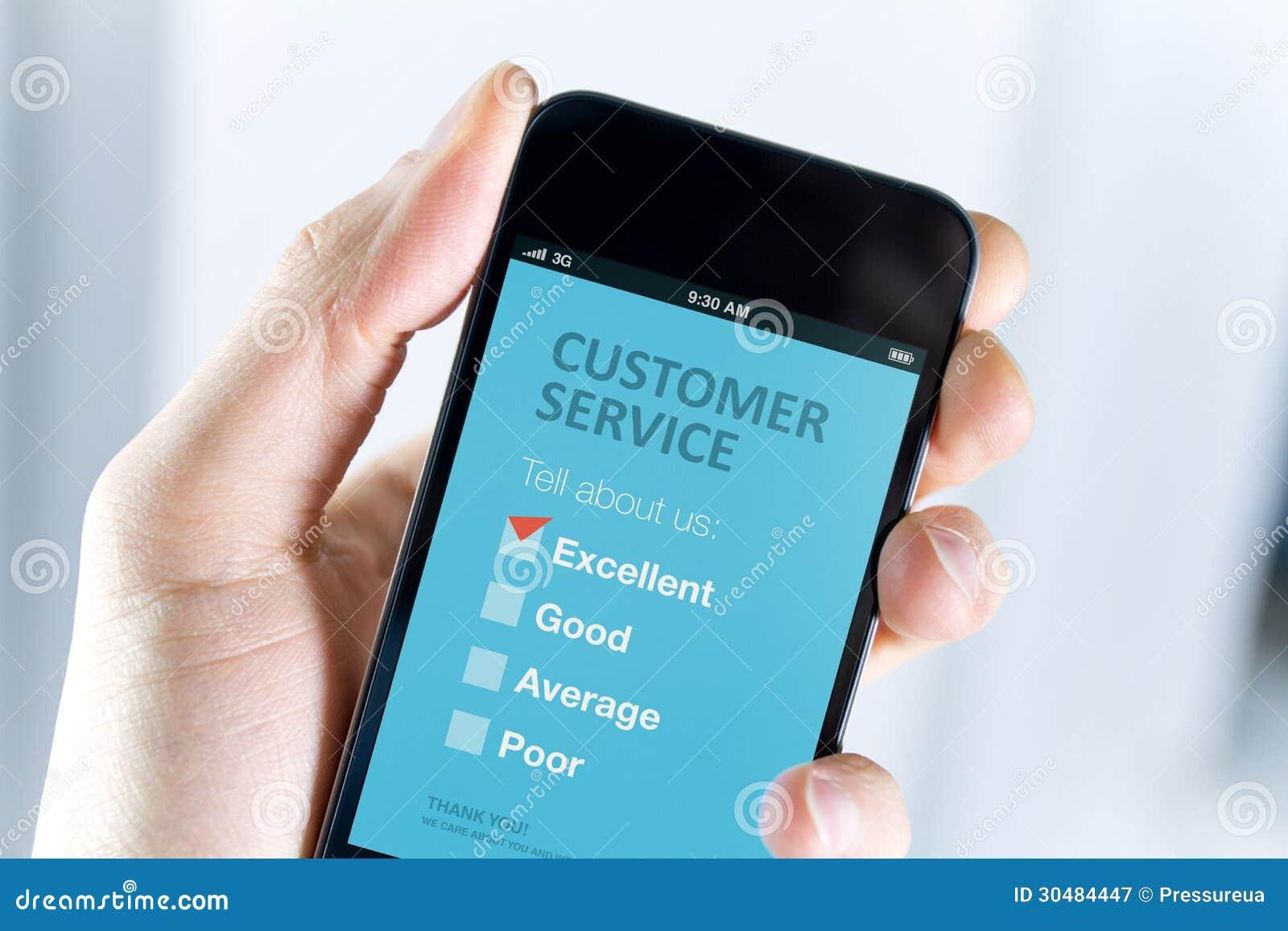 Excellent appui de service client