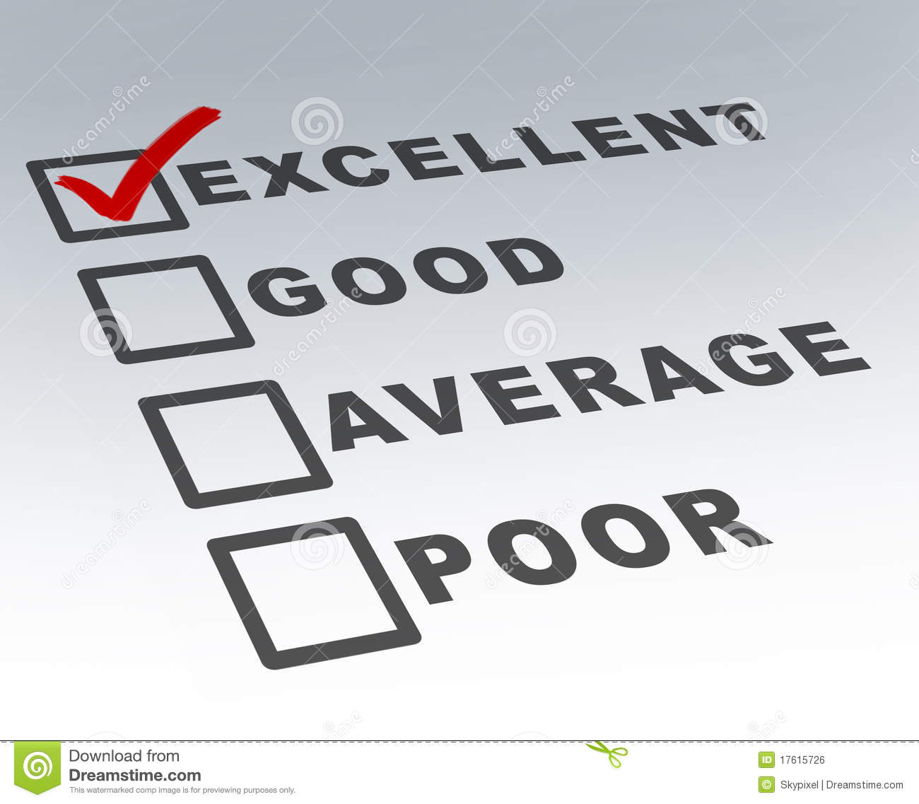 f4aa0131790 Excellent Customer Quality Survey Form Stock Photo - Image of excel ...