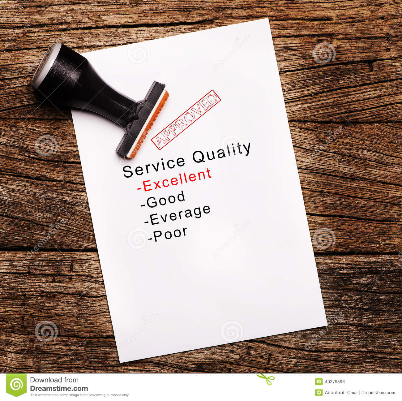 Thesis on service quality