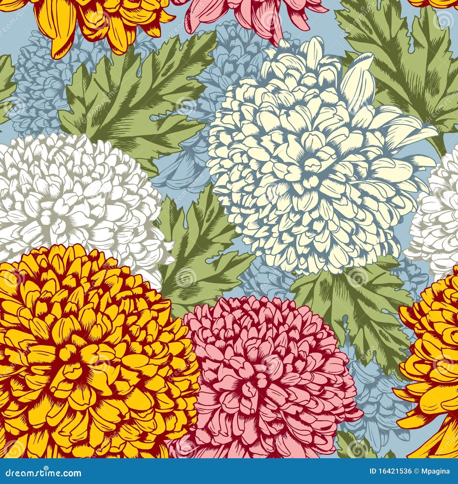 Chrysanthemum Stock Illustrations – 4,798 Chrysanthemum Stock ...