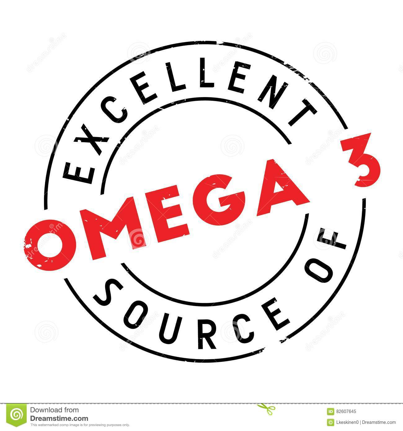 Excellent source of omega 3 stamp stock vector illustration of excellent source of omega 3 stamp diet icon biocorpaavc Choice Image