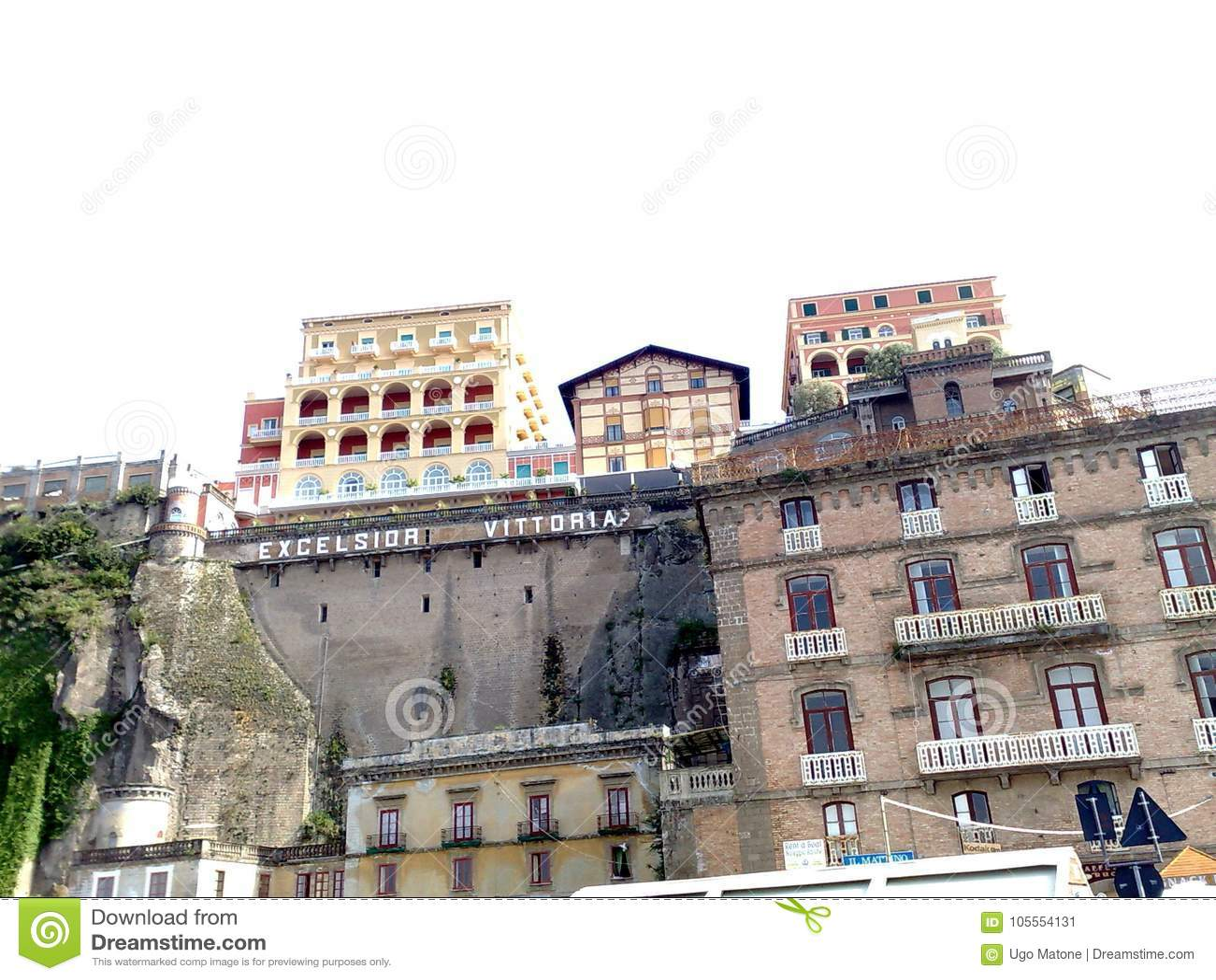 Excelsior Vittoria Σορέντο ξενοδοχείων από το λιμένα