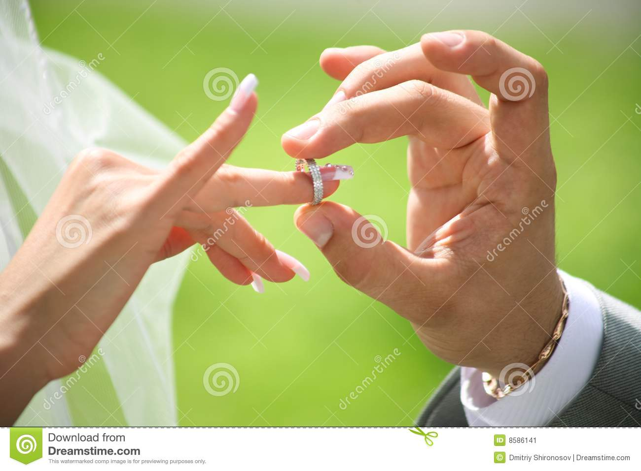 ring exchange wedding