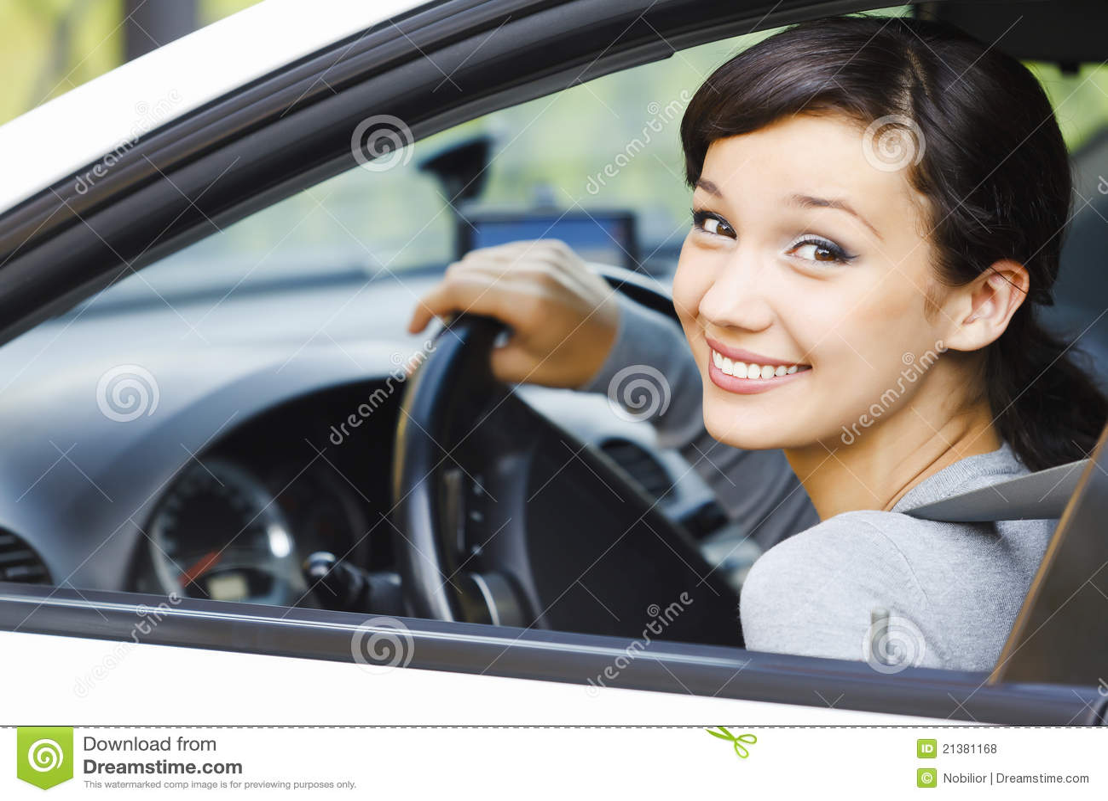 Excitador fêmea de sorriso