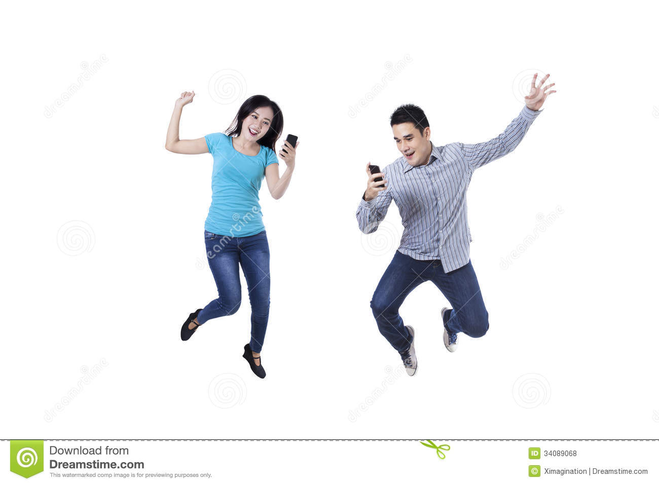 Excited couple