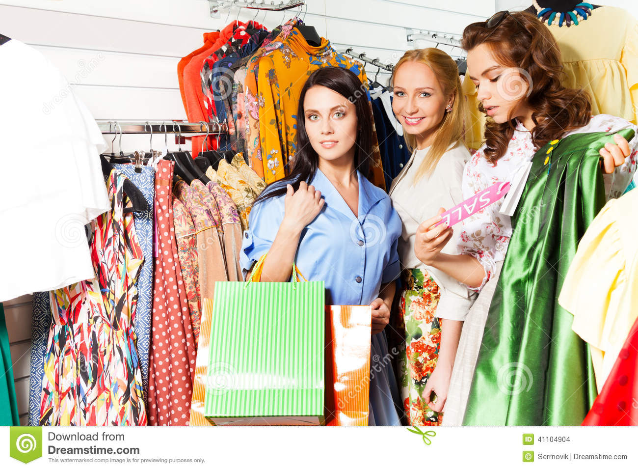 Girls Clothes Shopping