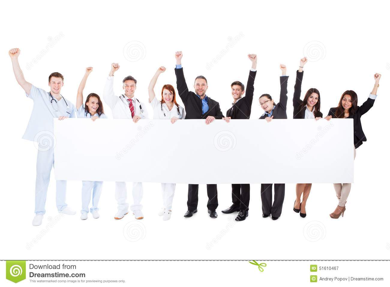 Group Of Doctors Clipart Excited Group Of Docto...
