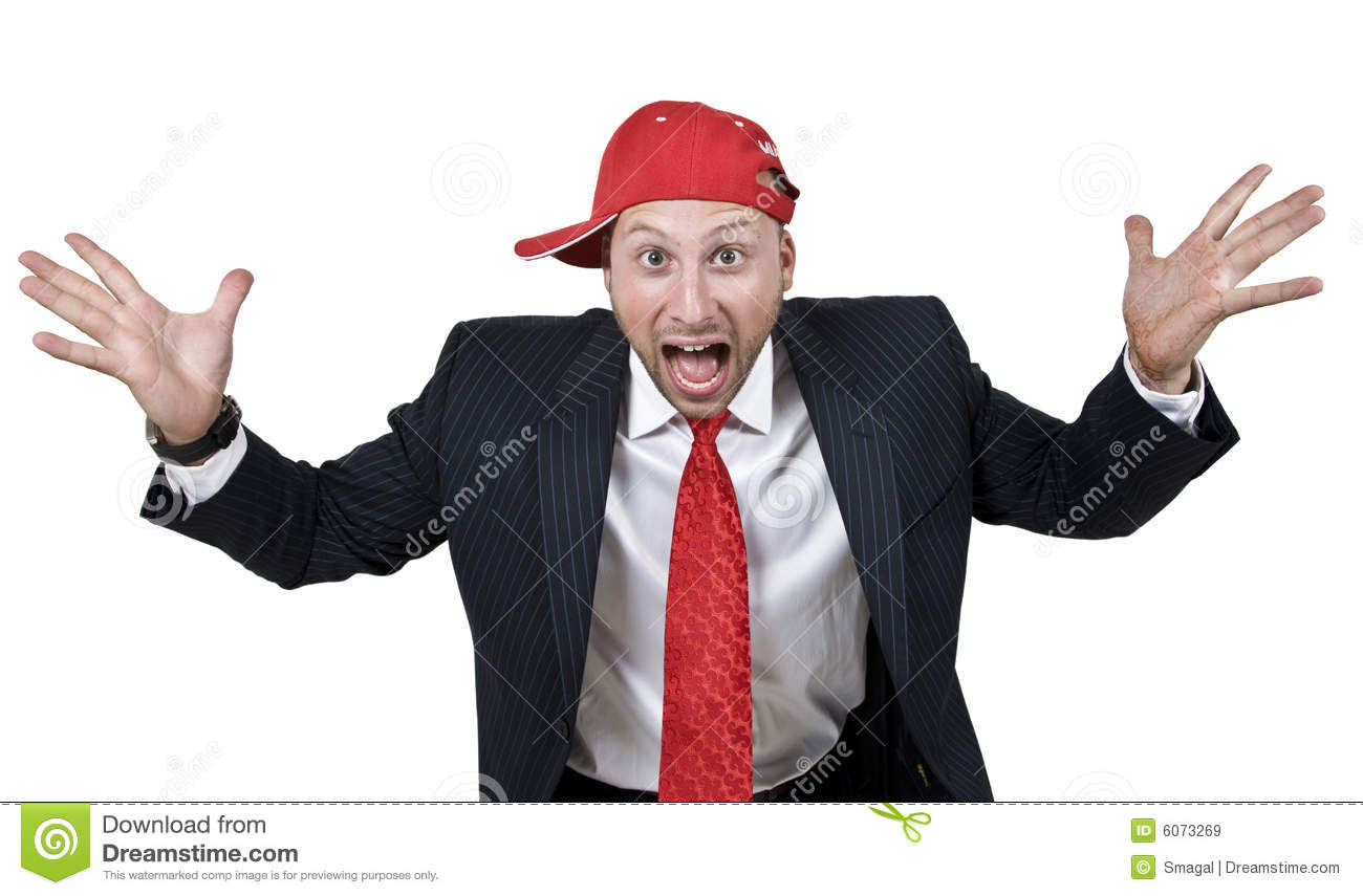 Excited Man Royalty Free Stock Images - Image: 6073269