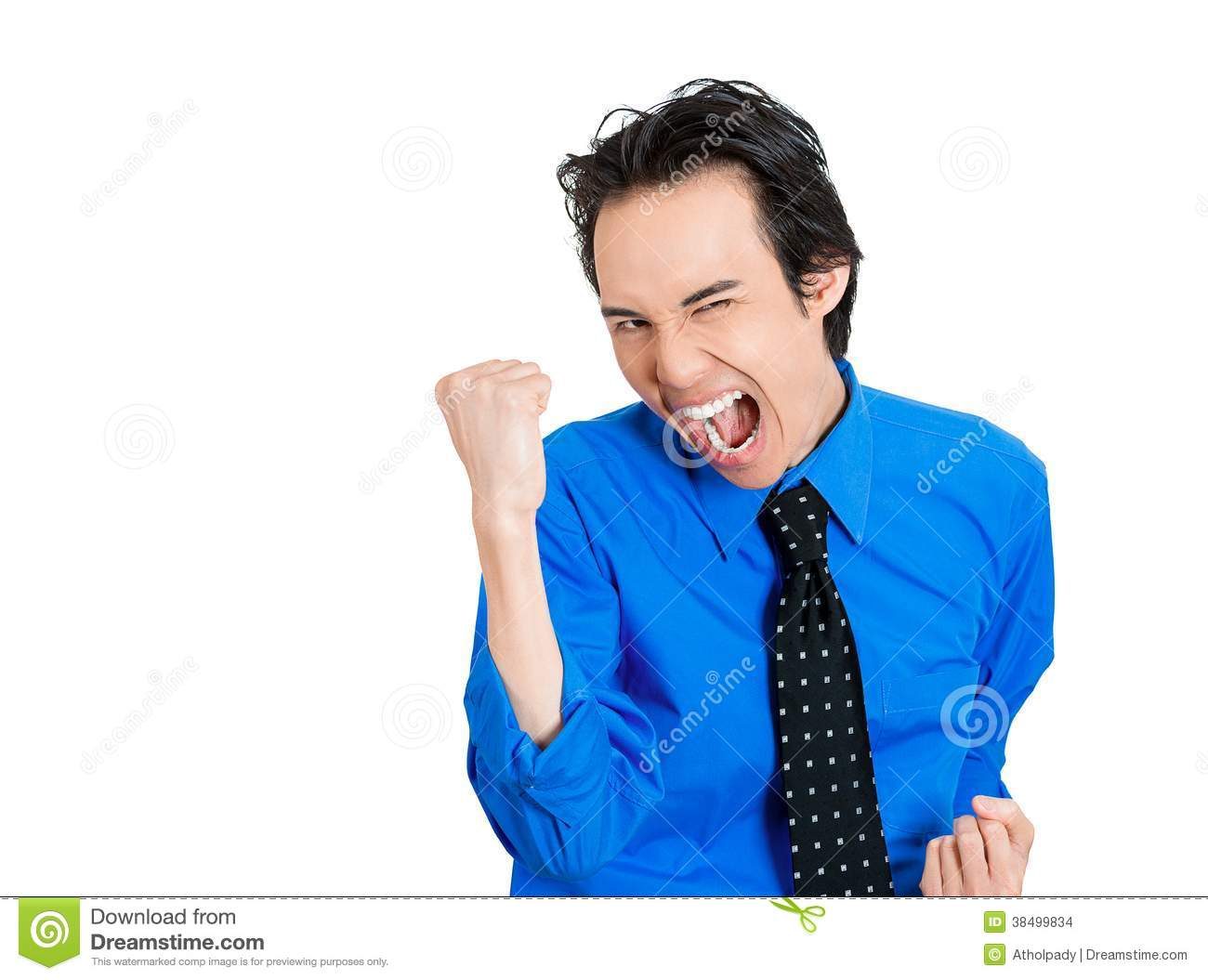 Excited Man Stock Images - Image: 38499834