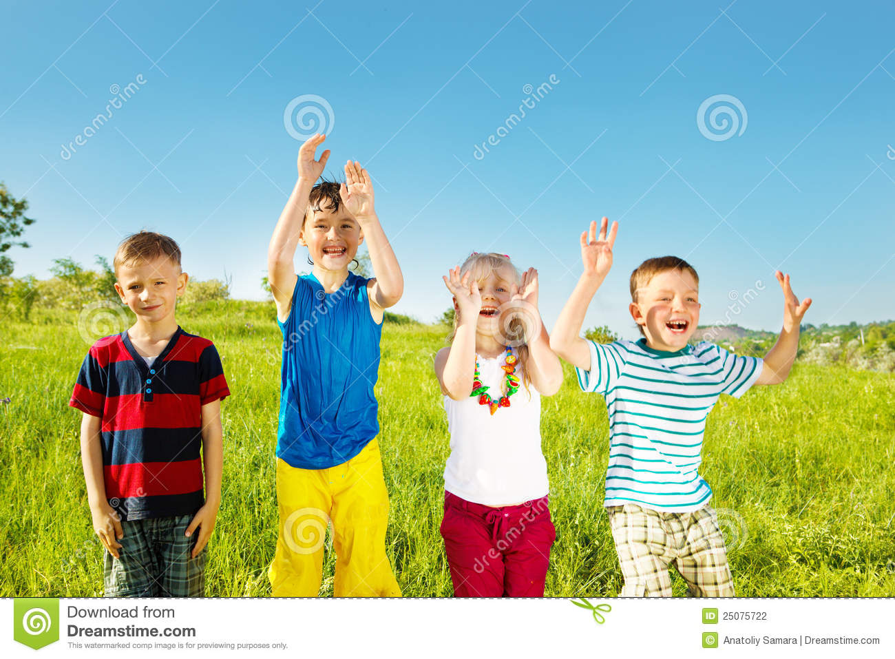 Excited Kids