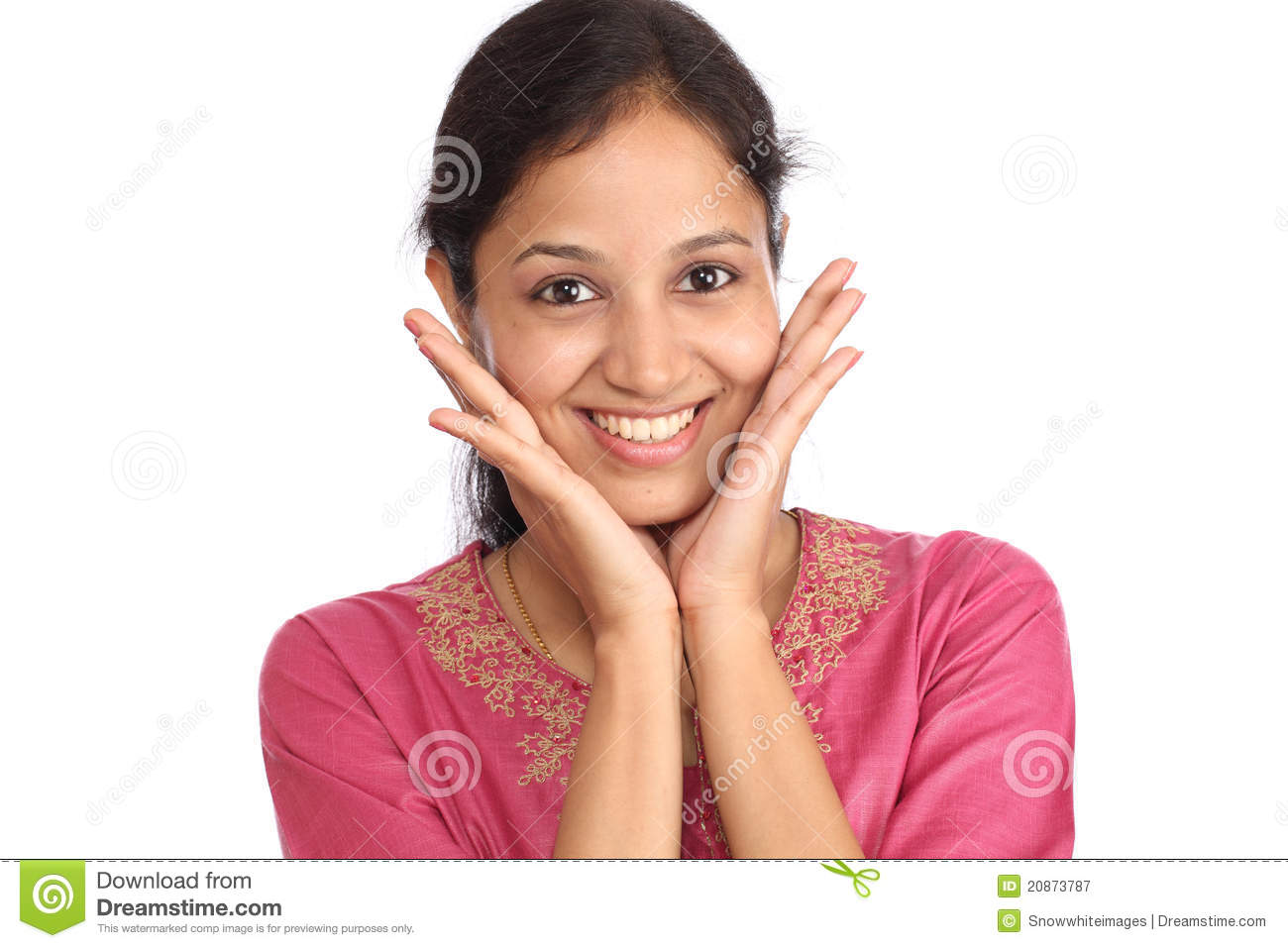 Excited Woman Royalty Free Stock Photography - Image: 20873787