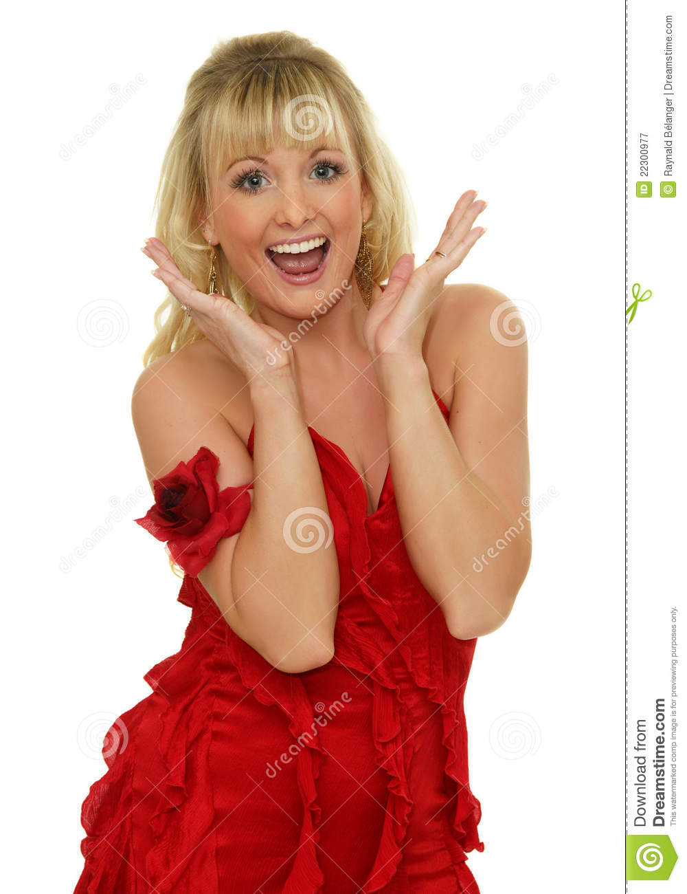 exited woman