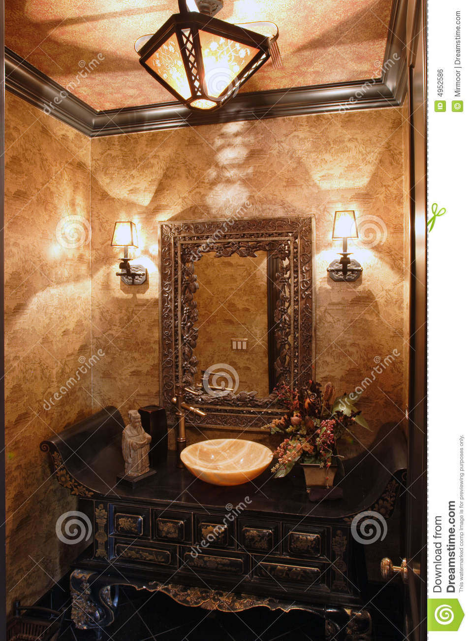 exclusive bathroom royalty free stock image - image: 4952586