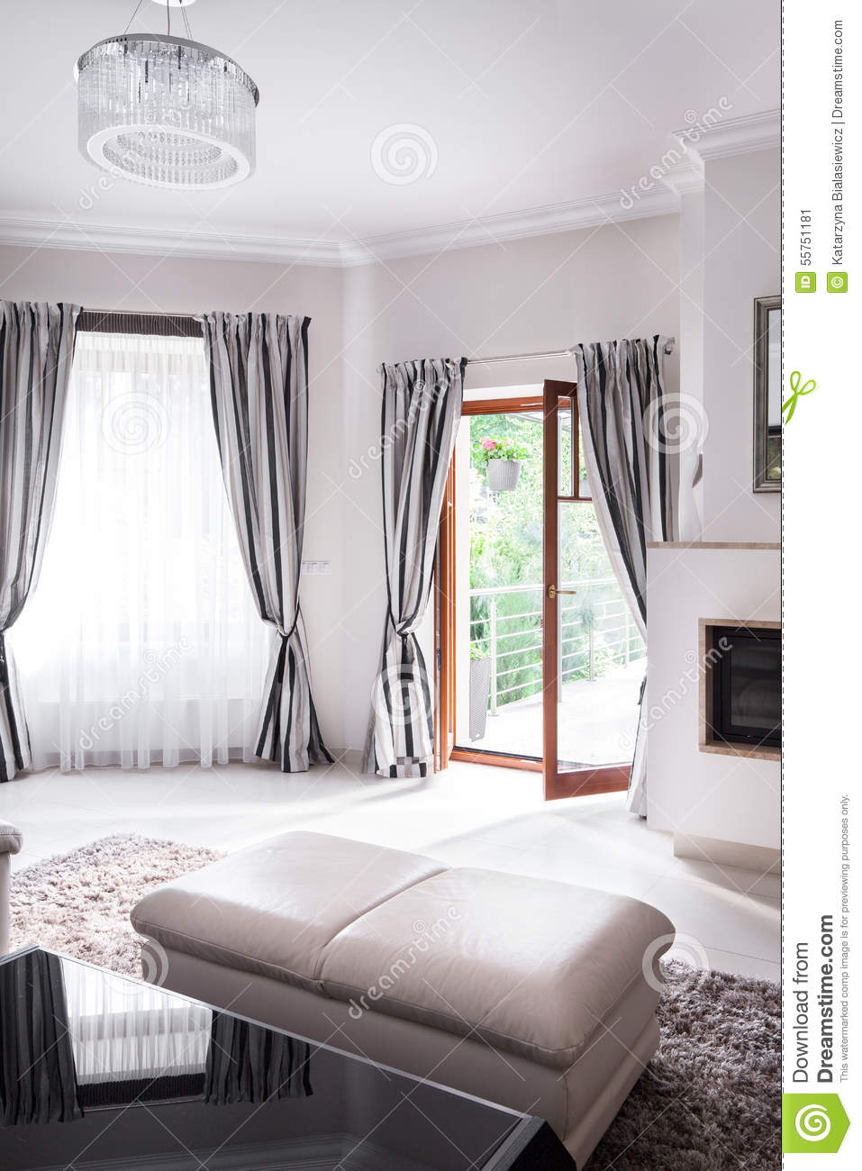 Exclusive sitting room royalty free stock image for Beauty residence