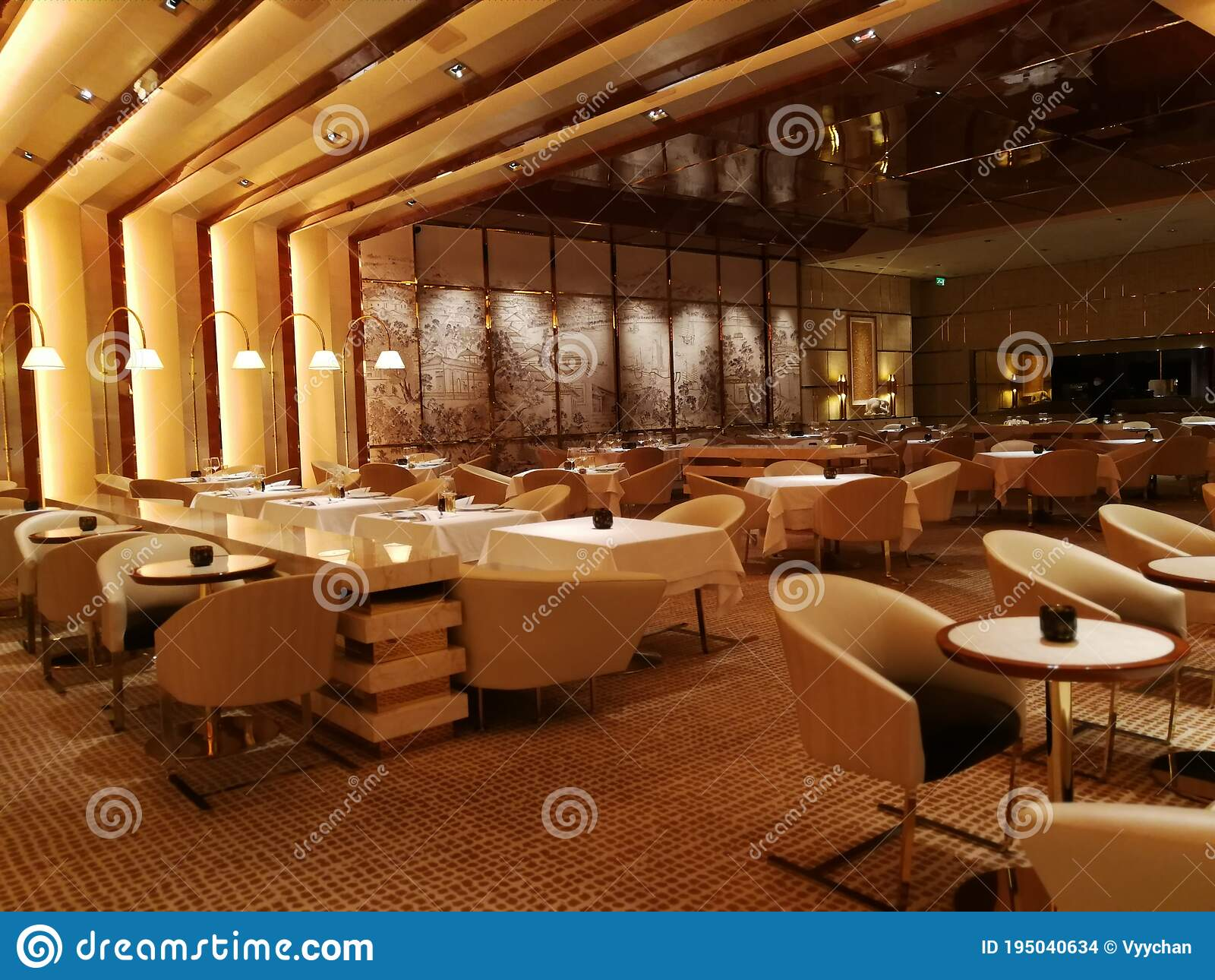 Exclusive Macau Wynn Palace Sw Steakhouse Restaurant Fine Dining Space Interior Design Luxury Lifestyle Prestigeous Environment Stock Photo Image Of Awesome Facebook 195040634