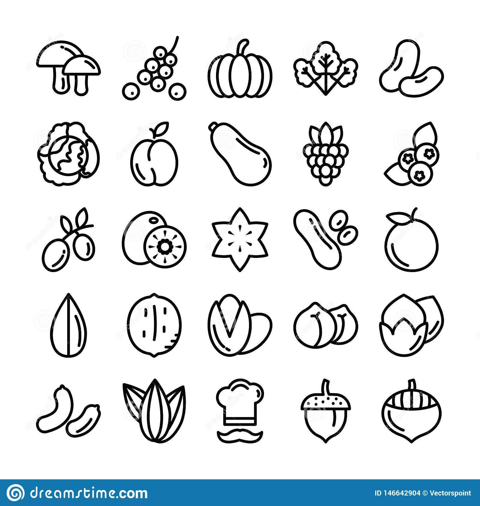 Fruits and Vegetables Pack