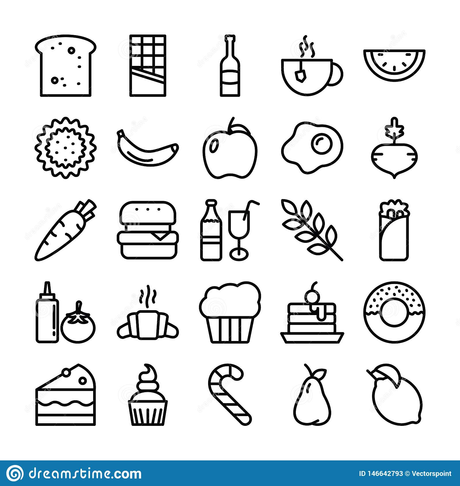 Food Pack Icons