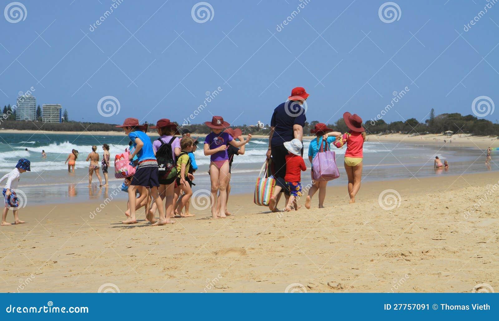 Excursion de classe, la voie australienne
