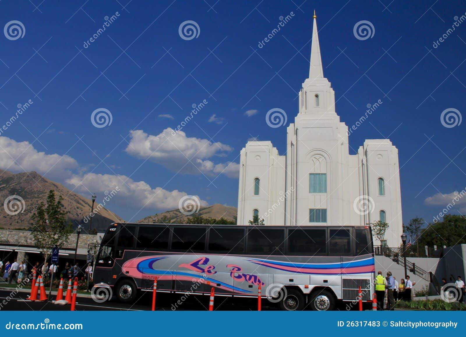 Excursions de temple de la ville LDS de Brigham