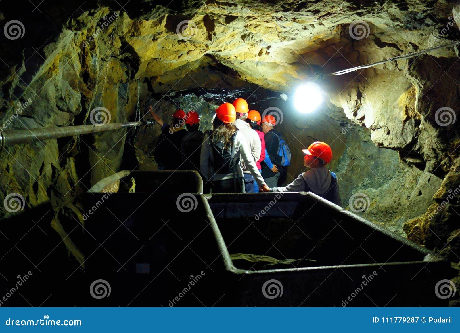 Excursions in the underground mine