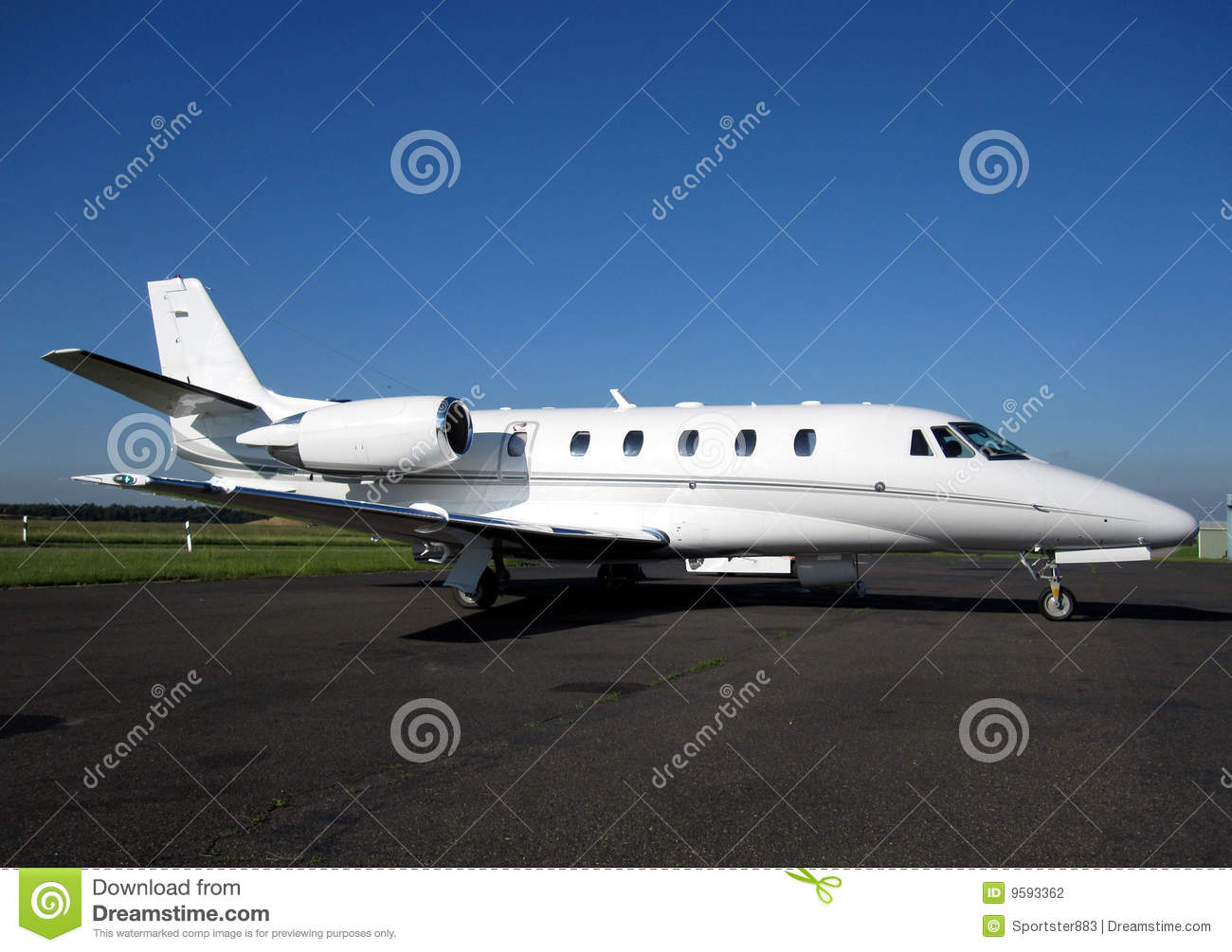 Executive Aircraft Stock Photography  Image 9593362